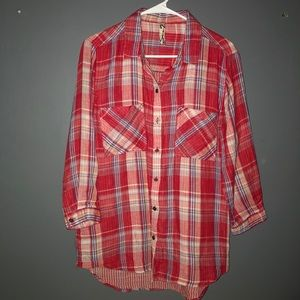 Seven 7 paid button up